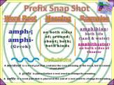 amph-, amphi- Prefix Snap Shot