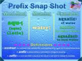 aqu- Prefix Snap Shot