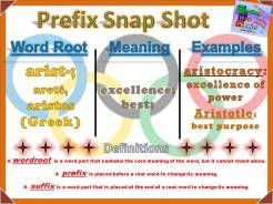 arist- Prefix Snap Shot